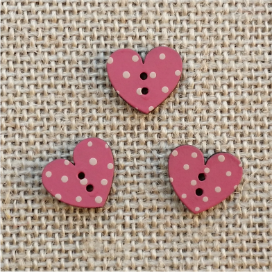 Pack  3 mini corazones