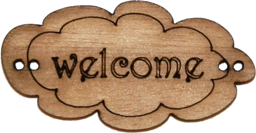 "Cartel ""Welcome"""