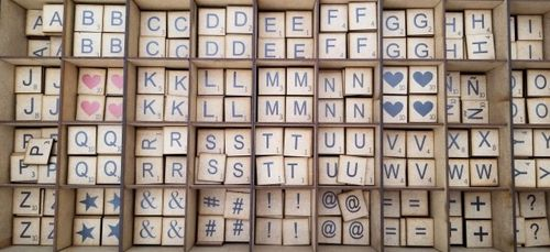 Letra Scrabble Decorativa